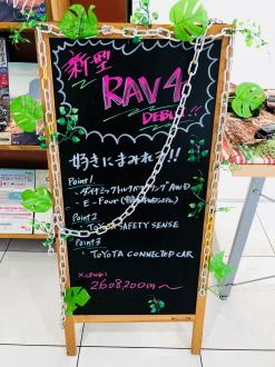 マイネ昭和通りRAV4