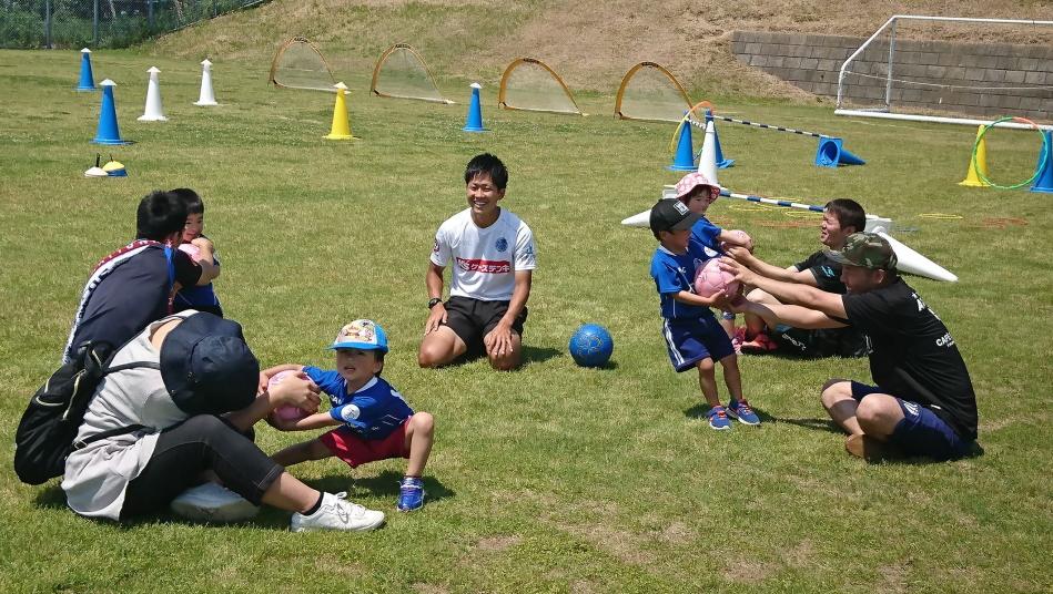 北茨城市「親子サッカー教室」を開催!