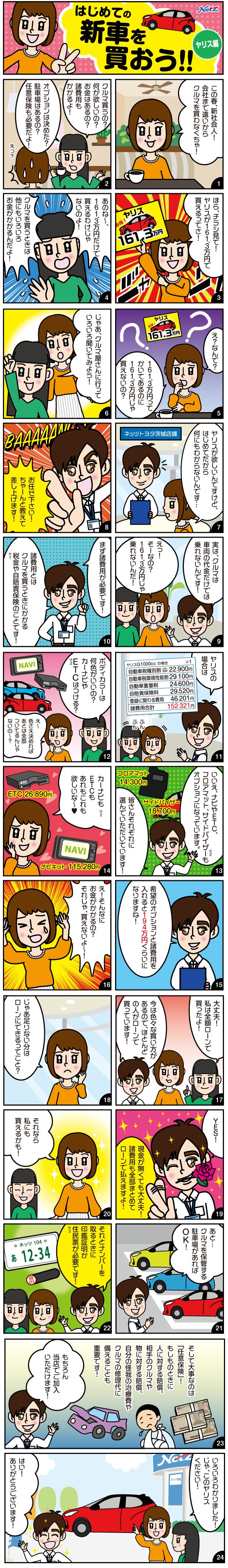 はじめての新車を買おう!!
