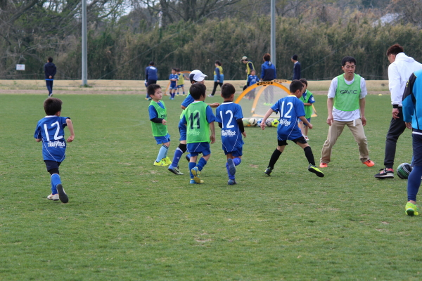 親子サッカー教室