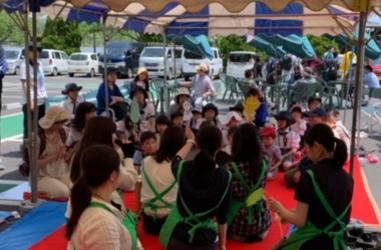 ちびっこ広場、交通安全教室