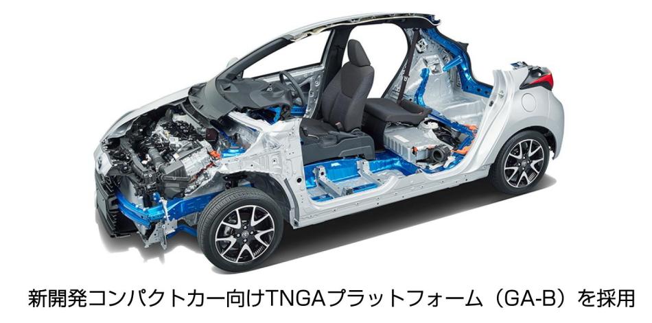 新開発コンパクトカー向けTNGAプラットフォーム(GA-B)