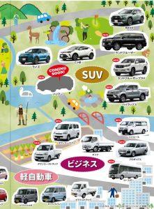SUV・ビジネス・軽自動車